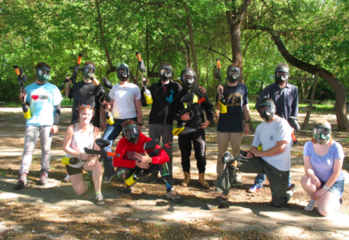 Paintball Team Bonding - Dragonfly Transitions for struggling young adults