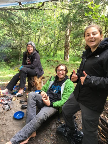 Cascade Crest and Dragonfly Transitions host a young adult vision quest