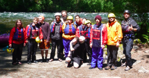 Dragonfly Transitions for Struggling Young Adults - Rafting McKenzie River