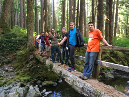 Dragonfly Transitions for Struggling Young Adults - Olympic Park Caseload Trip