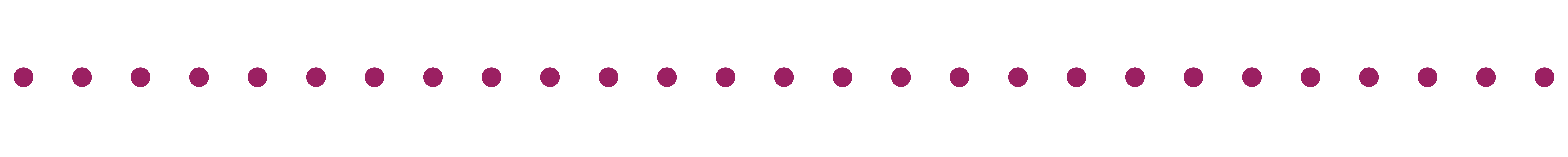 Horizontal dotted line_magenta